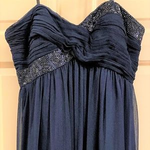 Maggy London Navy Blue Gown